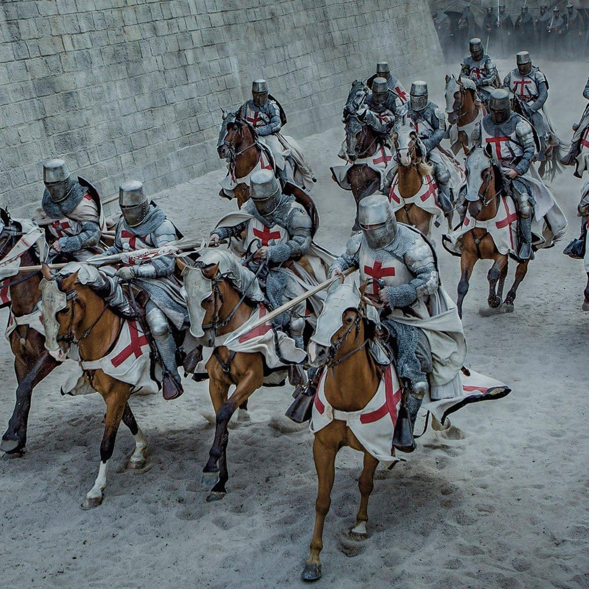 Fighting Knights Templars