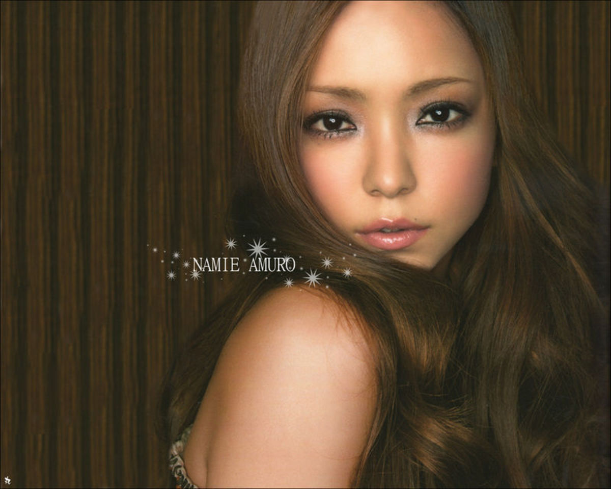 Namie Amuro now 38 is still one of the world's most beautiful celebrities and she is gorgeous with long hair!