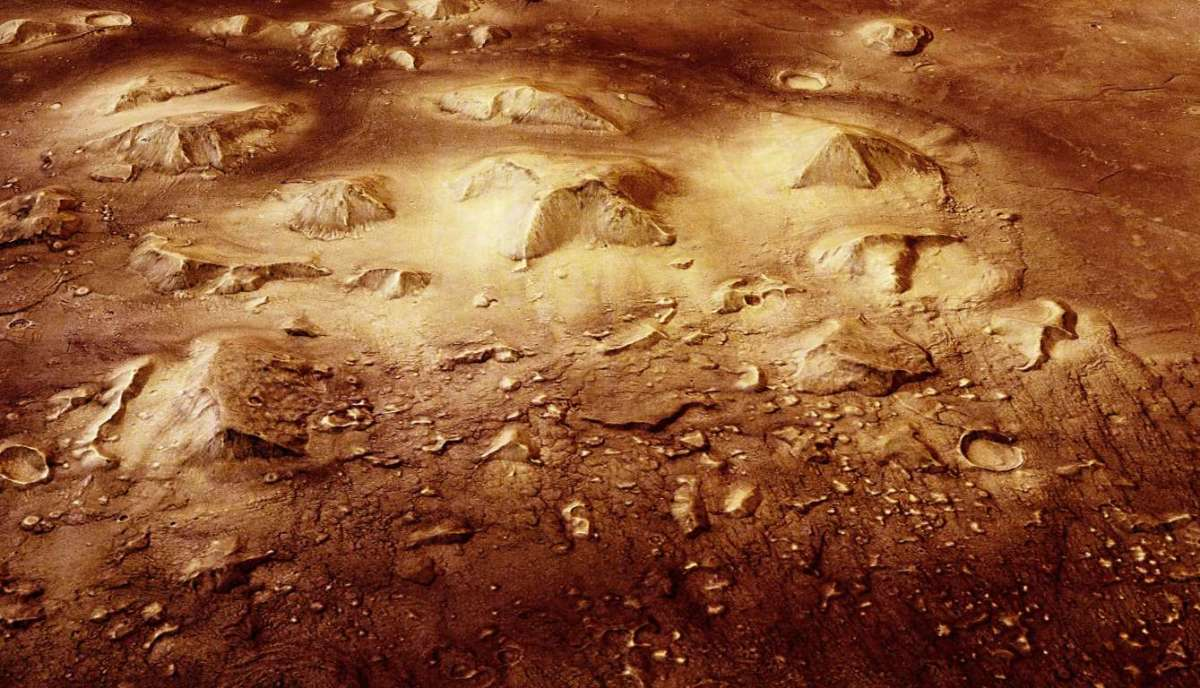 The so-called Pyramids of Mars
