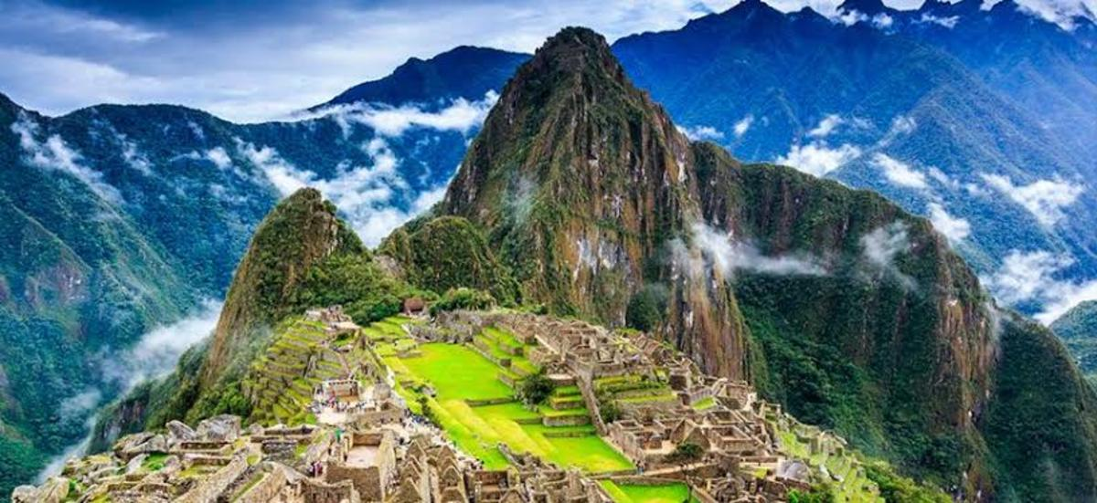 Machu Picchu, the lost city of Inca.