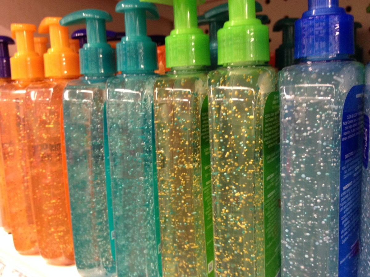 Avoid products with microbeads at all costs. A single shower can flush as many as 100,000 plastic microbeads into nature.