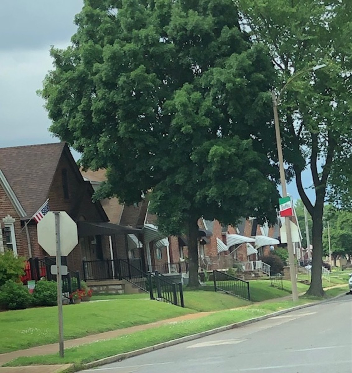 """Residential street in """"The Hill"""""""