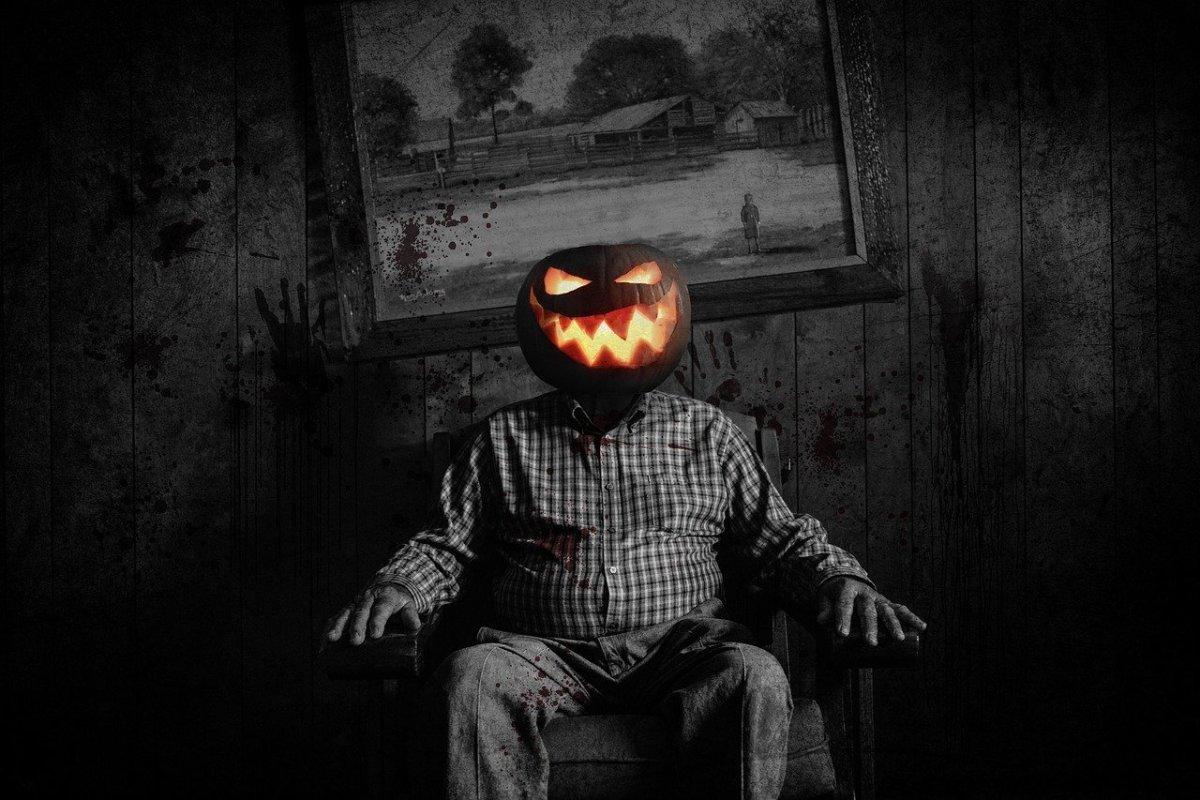 Jack-o-Lantern or Pumpkin Head
