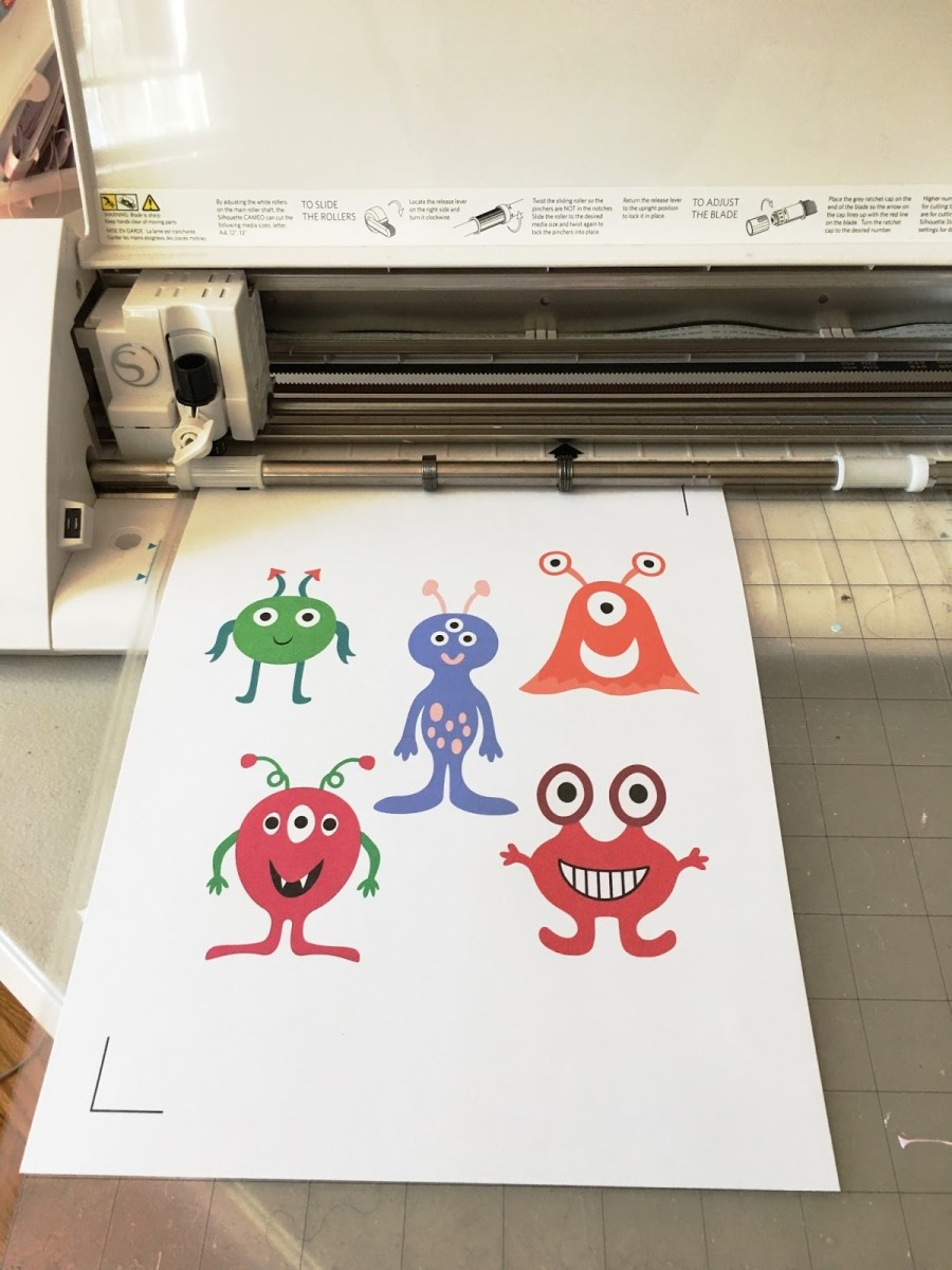 Print and cut is a popular feature of the Cameo line of electronic cutting machines, You can even double-side images . Learn how.
