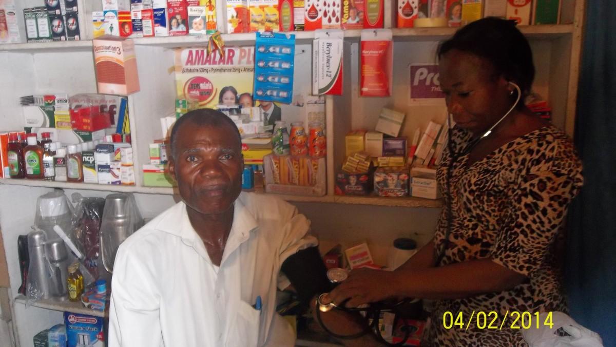 Check Blood Pressure Pressure
