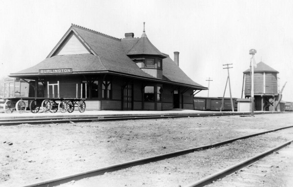 Sioux Line Station in Burlington
