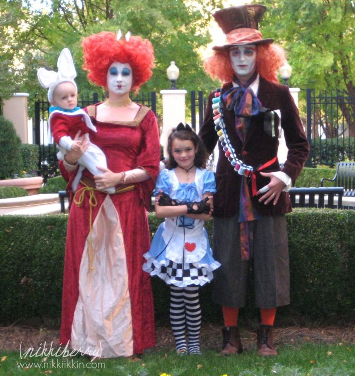 Alice N Wonderland Family