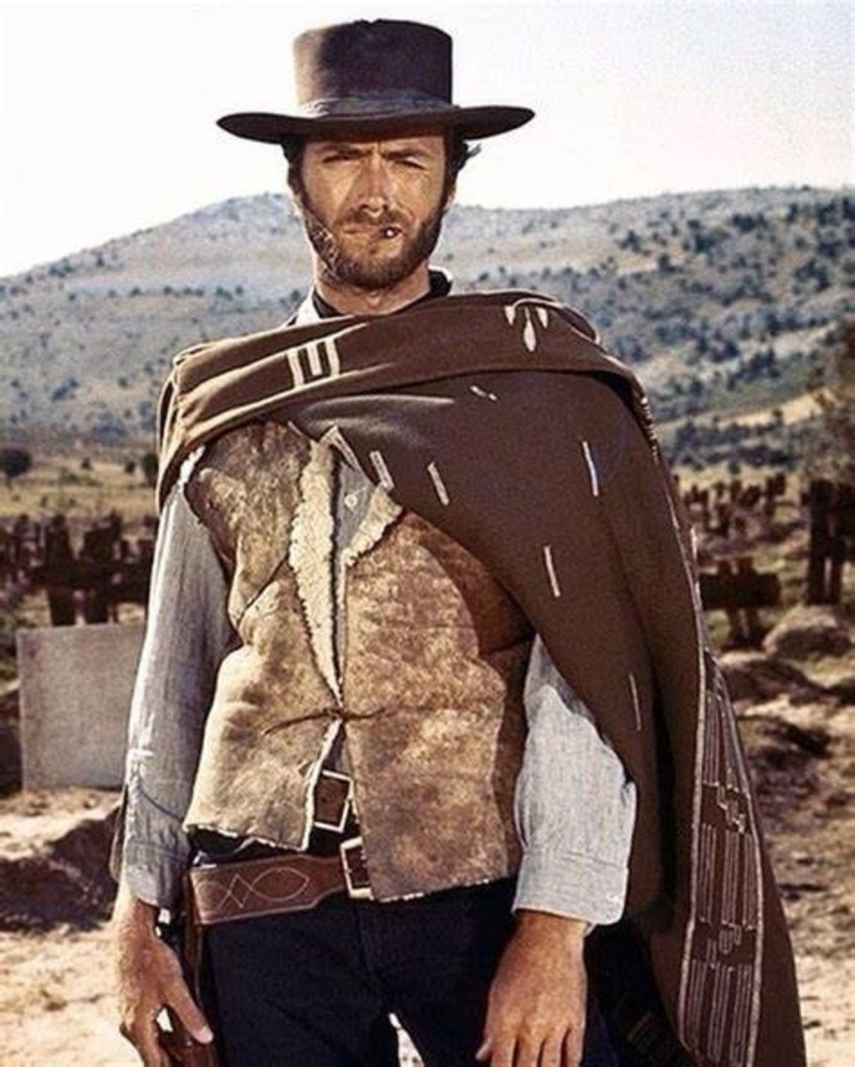 """Clint Eastwood in: """"The Good, the Bad, and the Ugly"""" (1968)"""