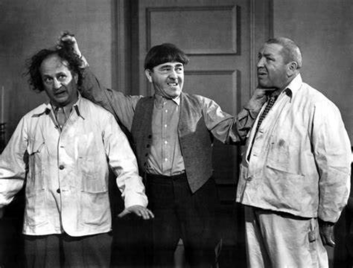 """Why You...Knuckleheads!"" Moe Howard"