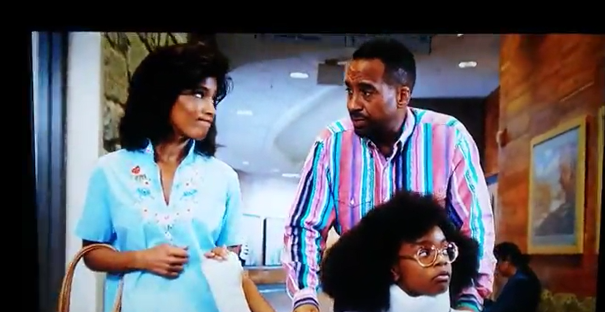 """Martin played Lil' Jordan's dad in the hit movie, 'Little' with """"Black-ish's Maasai Martin."""