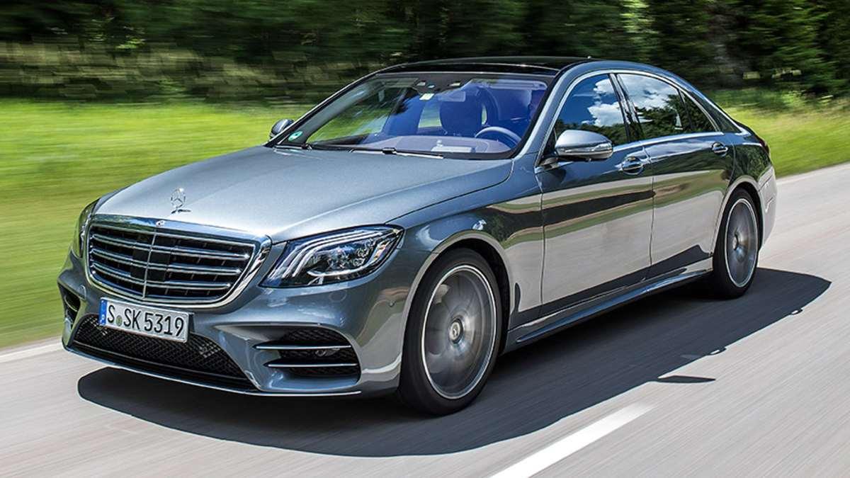 Mercedes Benz S Class model