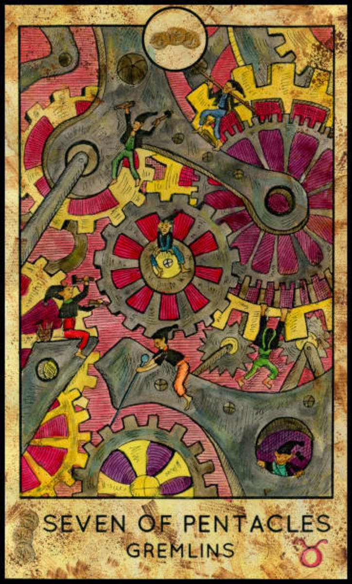 The Seven of Pentacles indicates that you are making the right moves for your journey. If you continue at this pace, you will reach your dreams and goals.