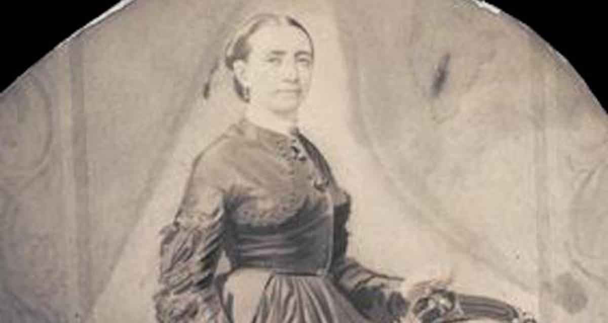 Photograph of Kate Warne