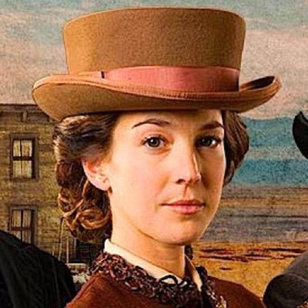 Artists painting of Kate Warne