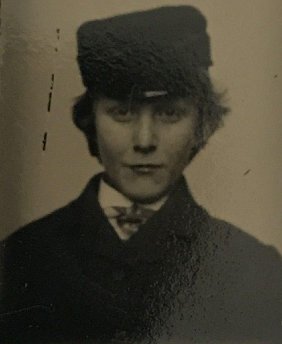 Kate Warne in PInkerton Uniform