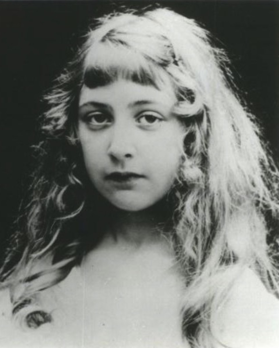 Agatha as a Young Child