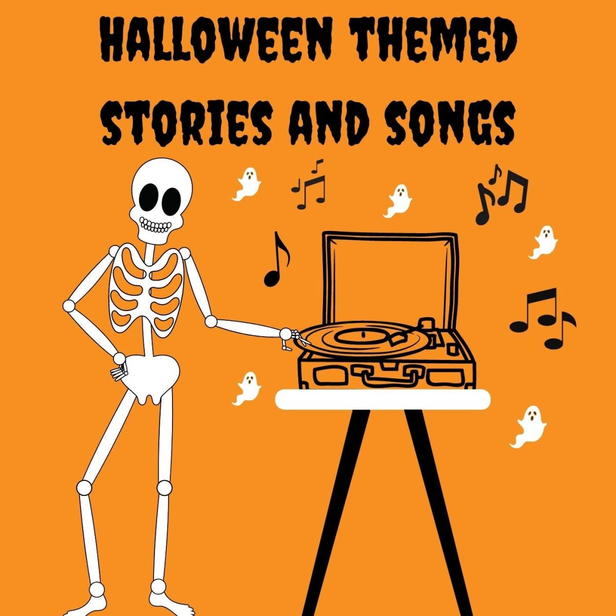 Need some tunes to play at your spooky Halloween party? Look no further!