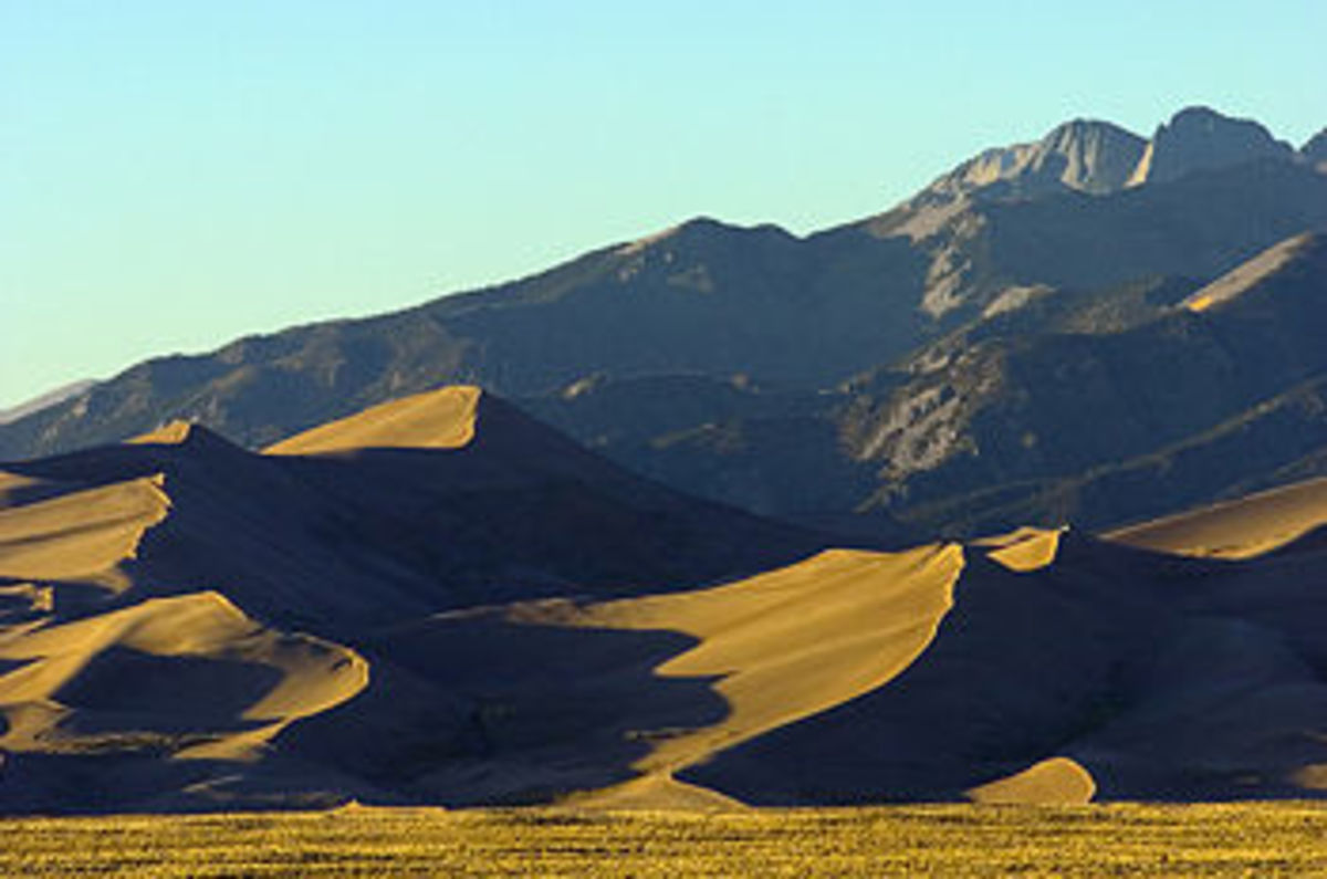 Great Sand Dunes National Park and Preserve, place of many UFO sightings
