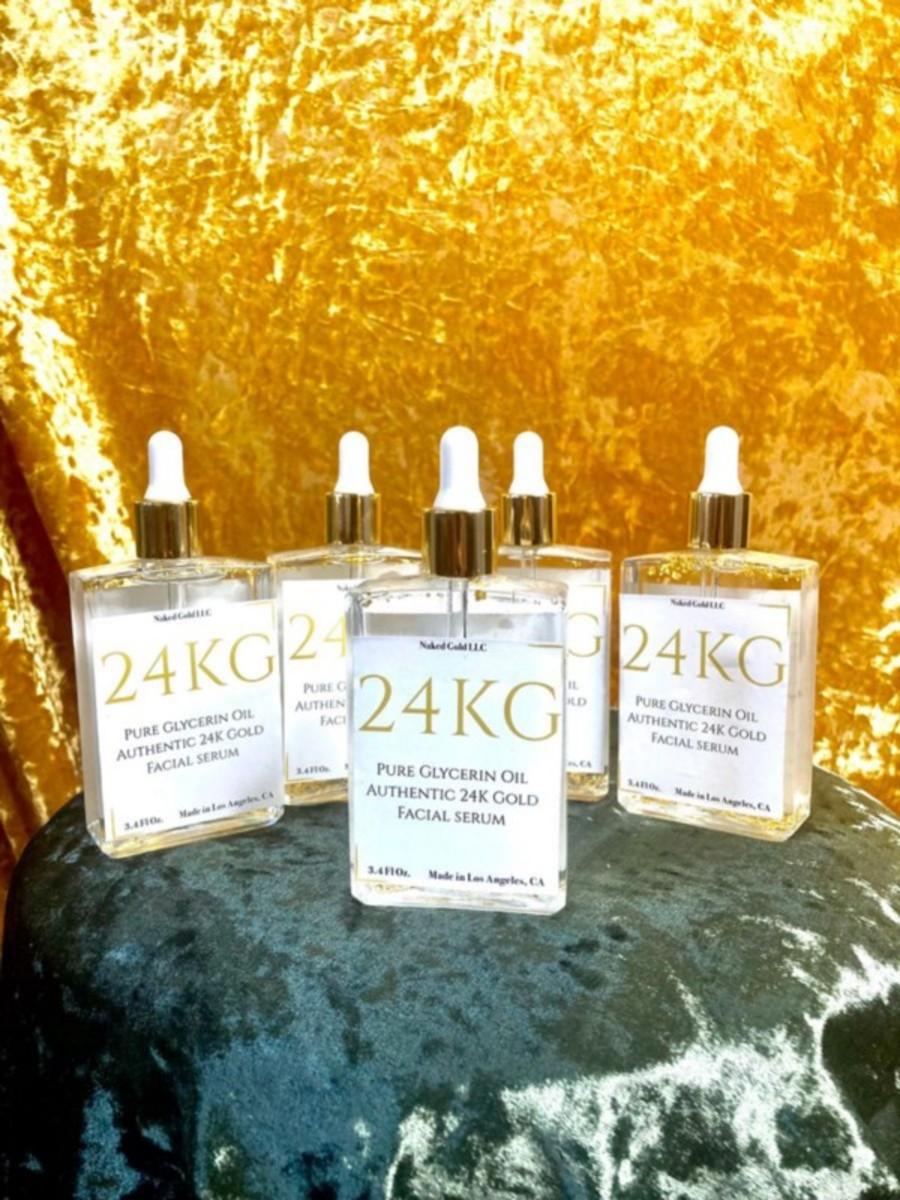 24KG Gold Facial Serum