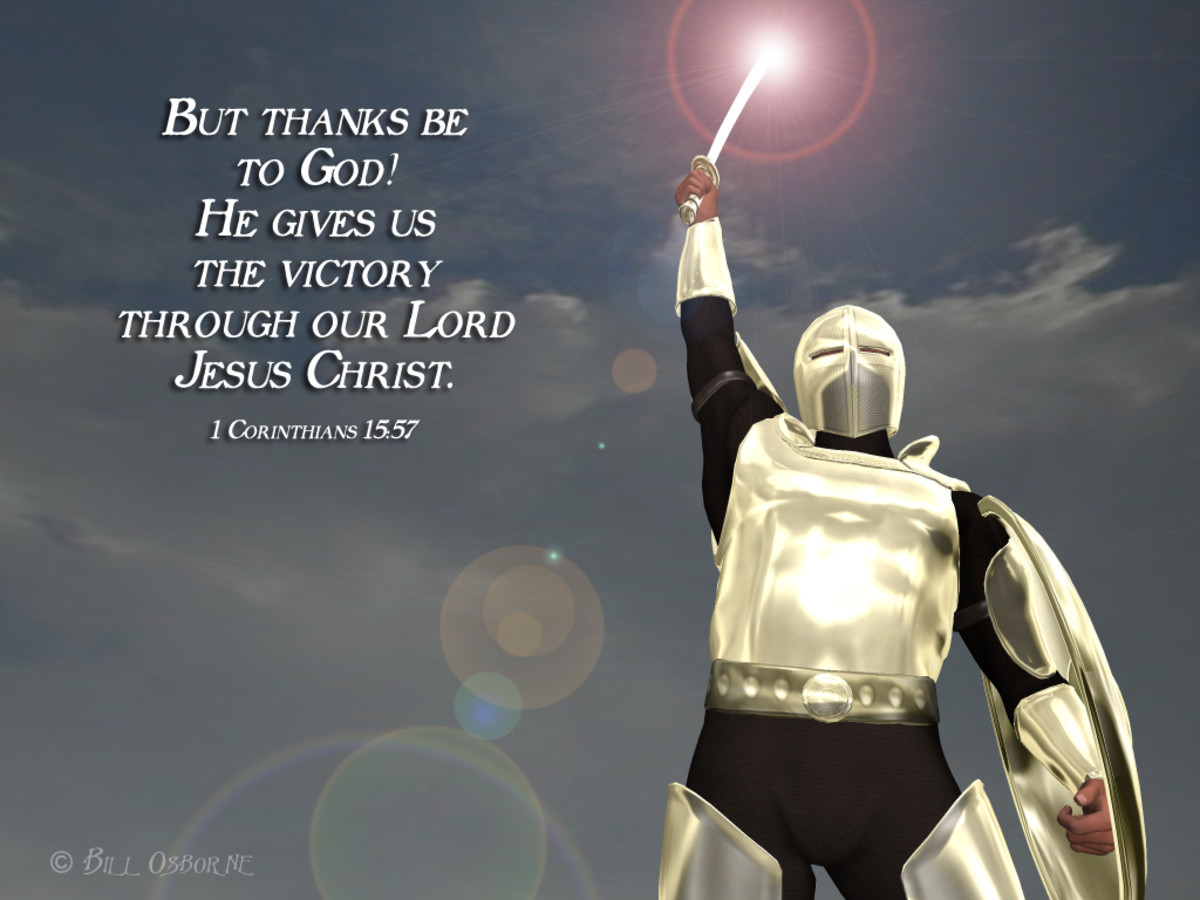 Thanks Be To God! He Gives Us The Victory Through Jesus Christ. (I Cor. 15:57)