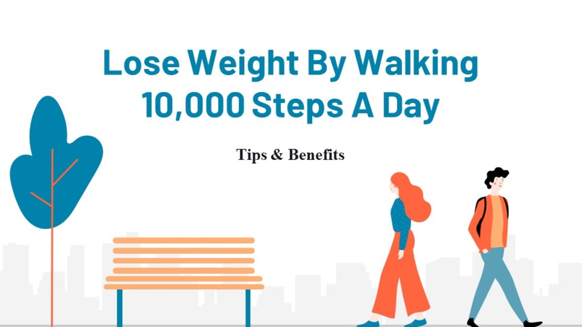 You Can Easily Lose Weight By Walking 10,000 Steps a Day!