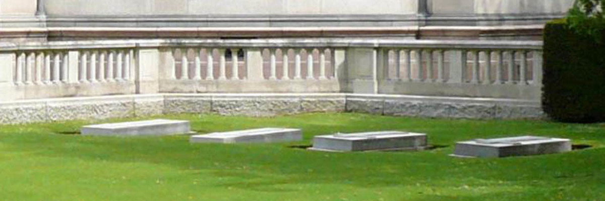 The Schleswig-Holstein Plot in the Frogmore Burial Ground, Windsor.