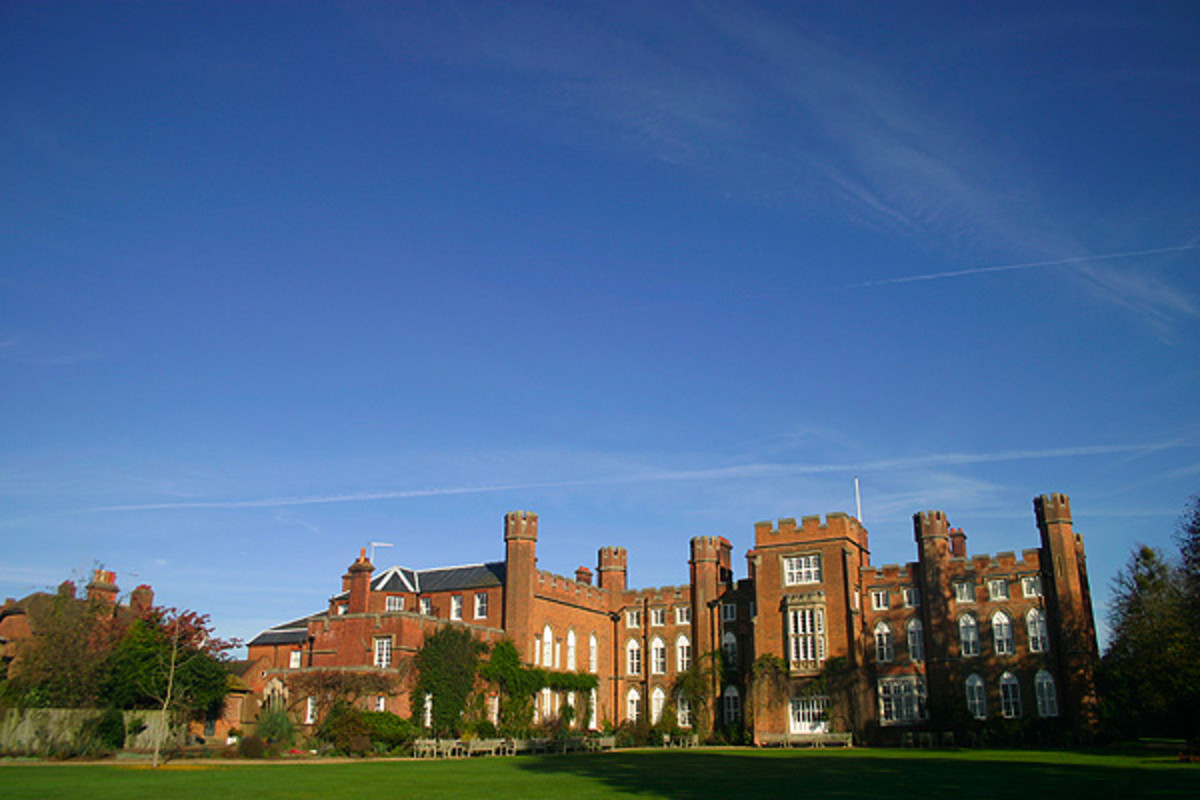 Cumberland Lodge, Windsor Great Park. Marie Louise's childhood home.