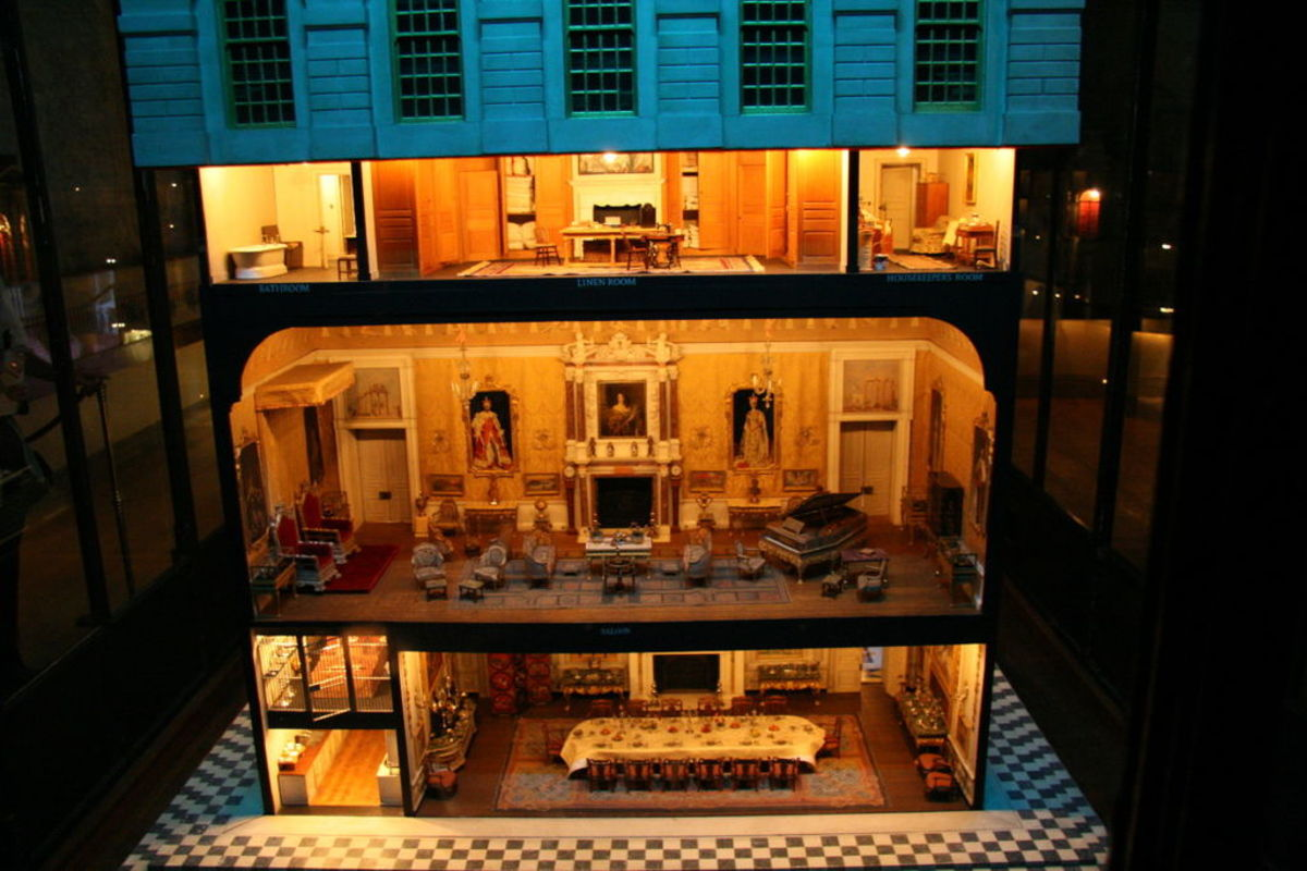 Marie Louise inspired the exquisite Queen Mary's Dolls House, now at Windsor Castle.