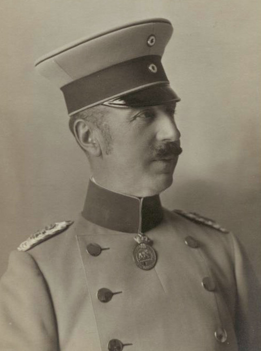 Prince Aribert of Anhalt was a far from perfect husband to Marie Louise.