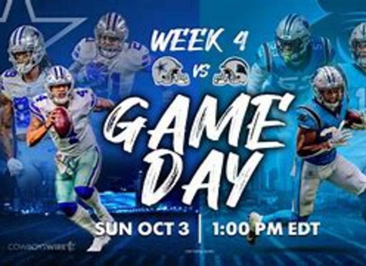 Dallas Cowboys v. Carolina Panthers