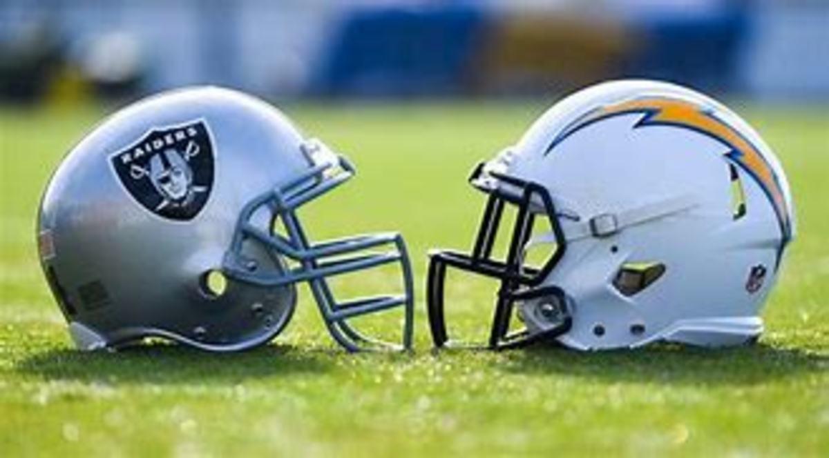 Las Vegas Raiders v. Los Angeles Chargers
