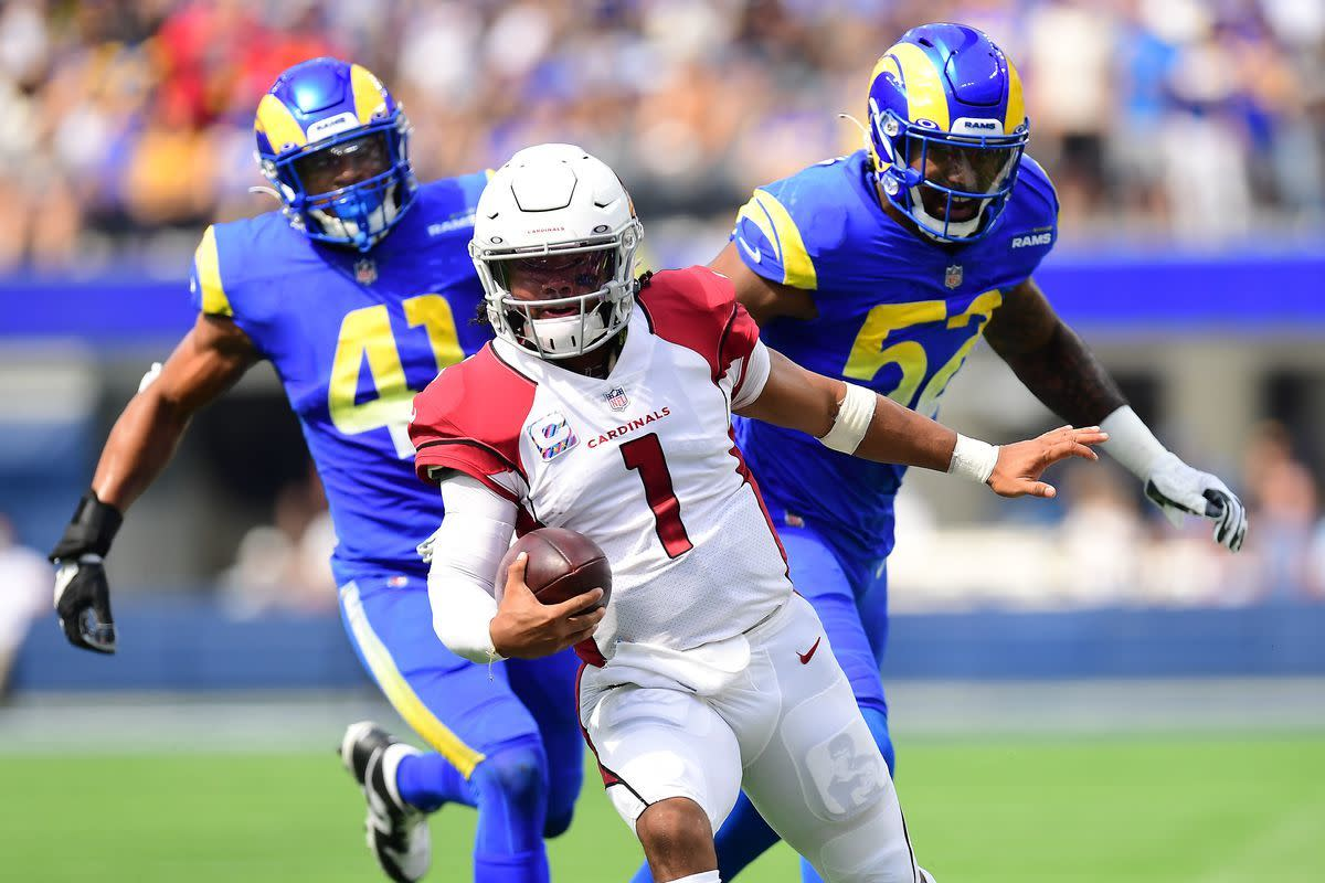 Kyler Murray and the Cards remain the only undefeated team as they outperform LA.