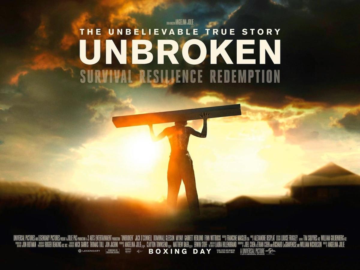 "Movie Poster for ""Unbroken"""