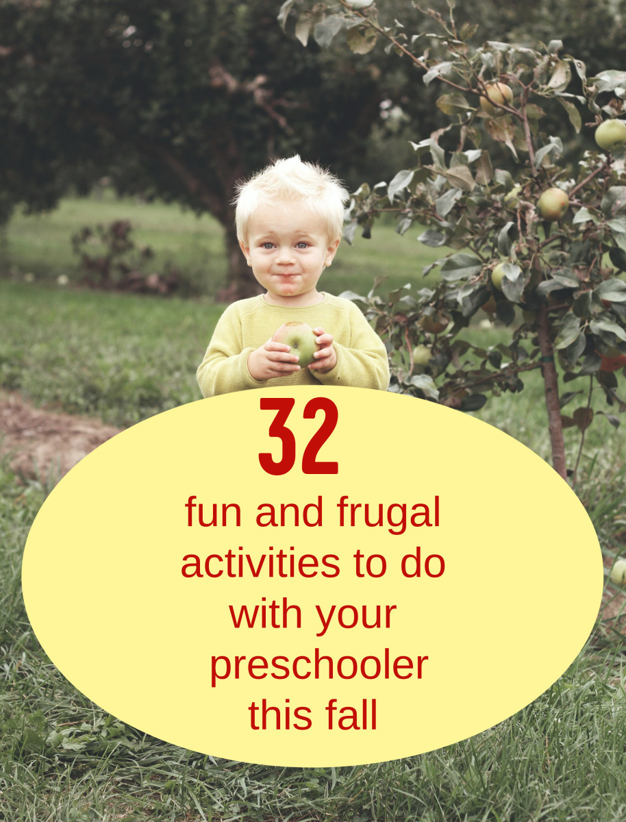 Going apple picking is a wonderful outdoor activity for preschoolers in fall.
