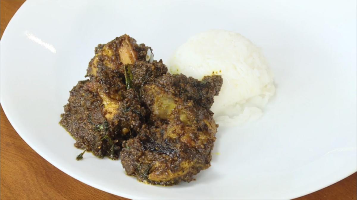 Kaala chicken tikka kebab