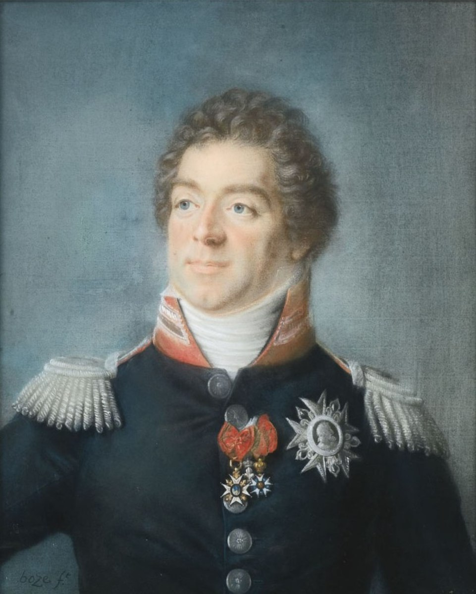 Napoleon's Chief-of-Staff Louis-Alexandre Berthier. Not the best person to organise a rabbit hunt apparently.