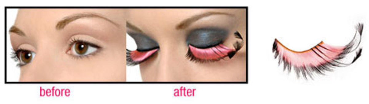 this will give your mermaid a wild bird look!