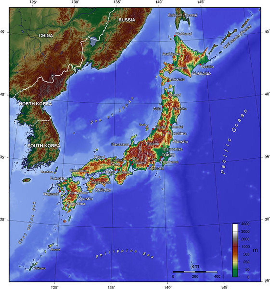 Japan's radiation danger to the rest of the world