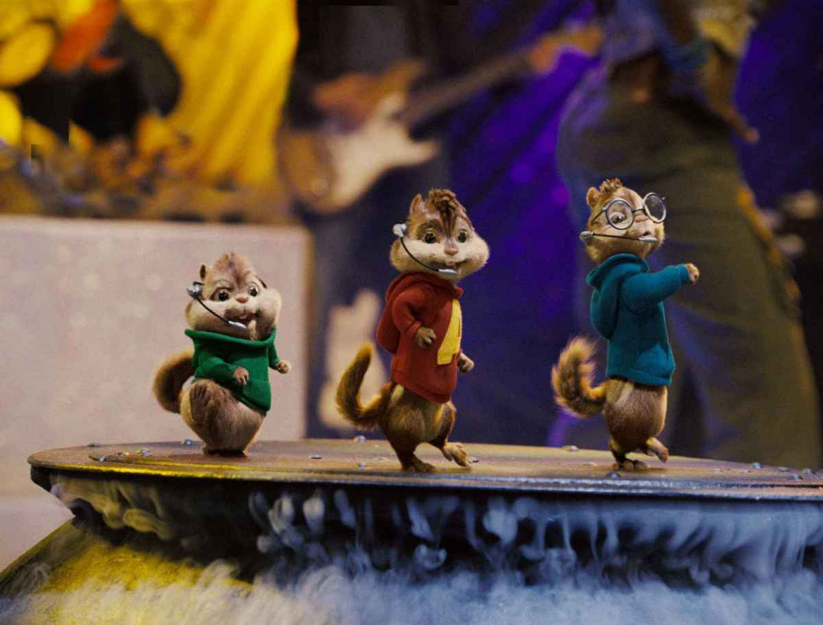 THE CHIPMUNKS ARE COMING BACK!