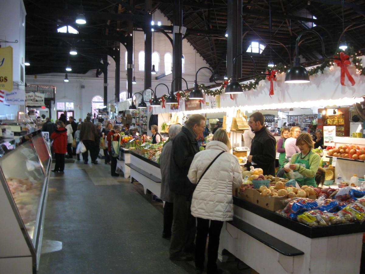 Inside Lancaster Central Market