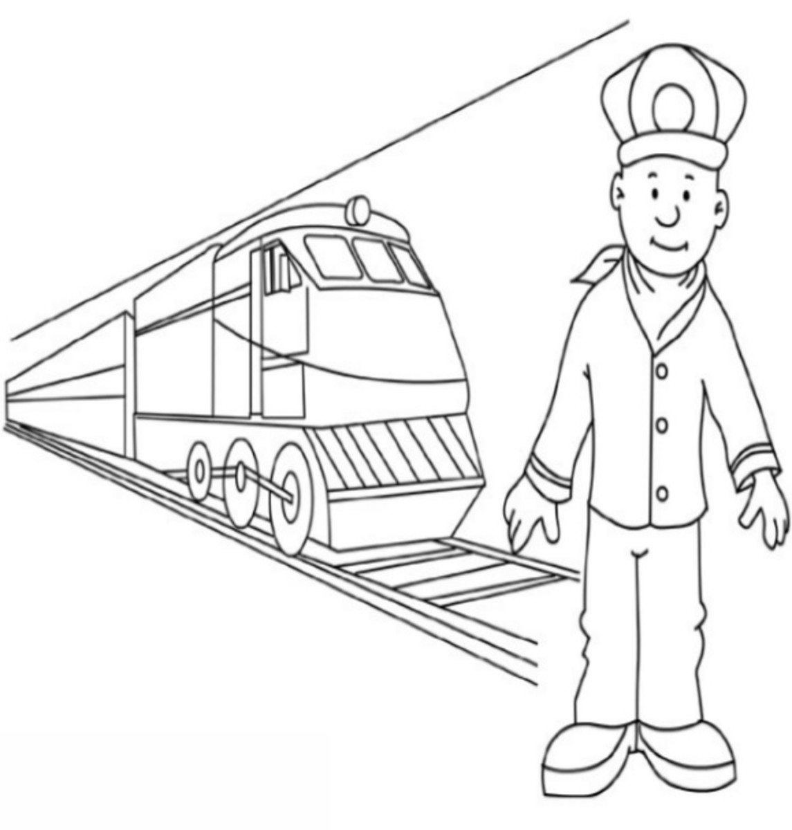 Free Educational Coloring Pages for use with home schooling or traditional school education on sports and other outdoor occupations