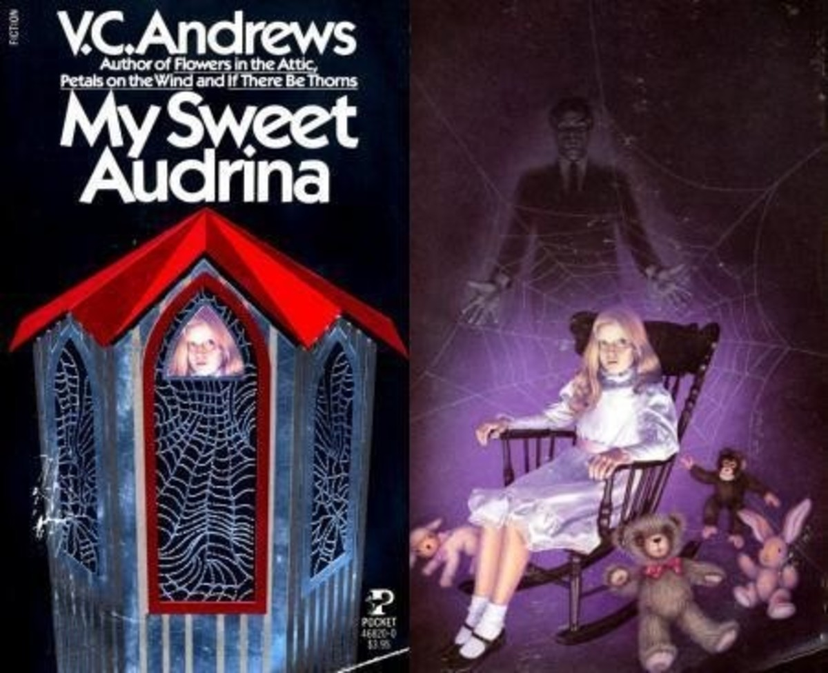 My Sweet Audrina by V.C. Andrews. Photo courtesy of Somebody Wrote This Blog.