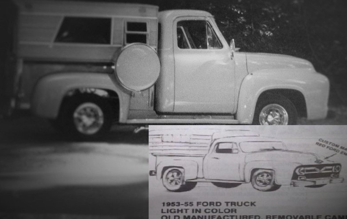 A witness said they saw a 1953-1955 Ford truck following Tara the morning she vanished on September 20, 1988. Photo courtesy of Dead Girl Walking Blog.