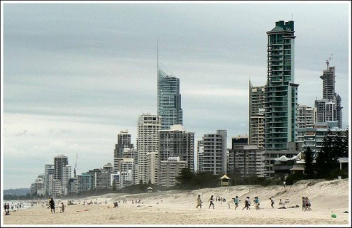 The Gold Coast in Queensland