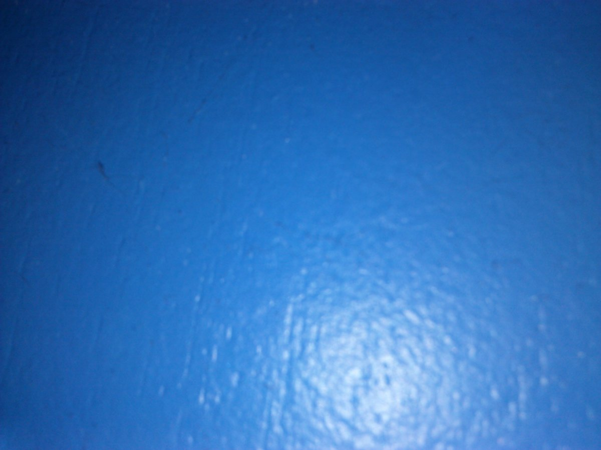My daughter chose the color Indigo for her bedroom walls...hmmmm...