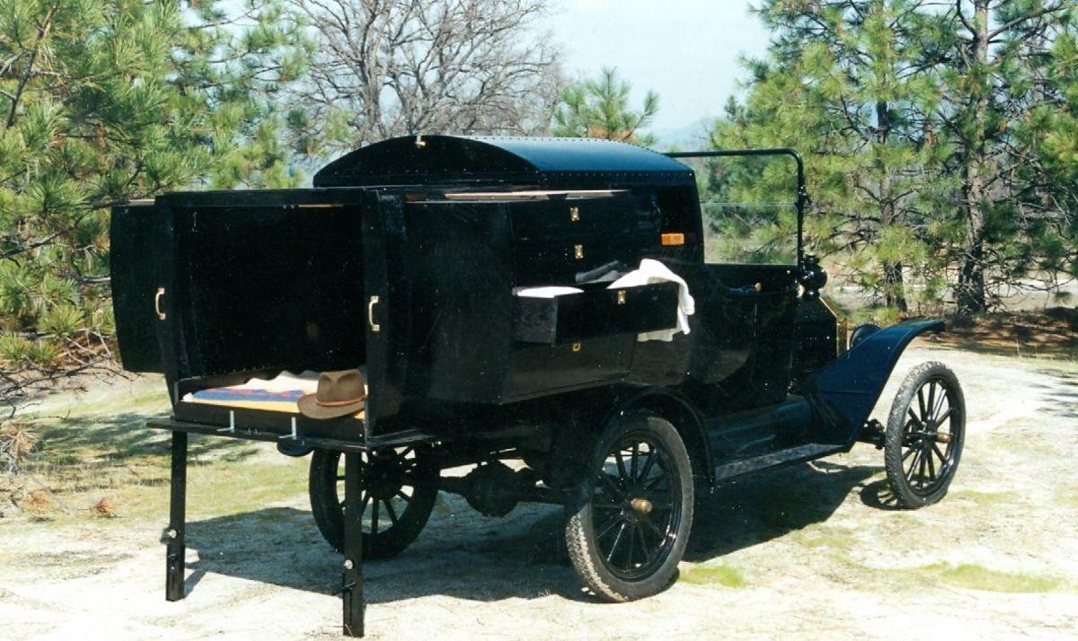1916 Model T Camper