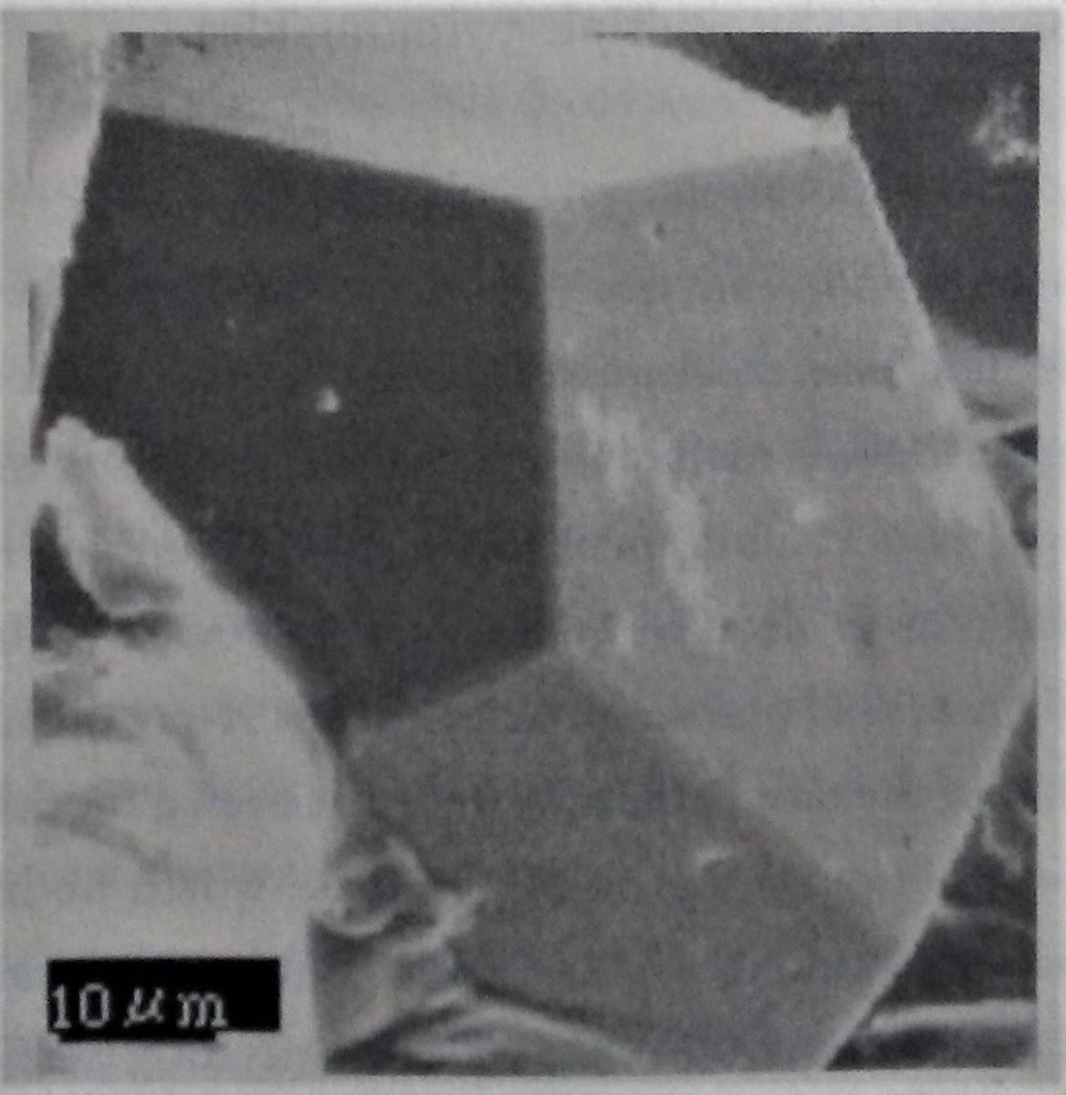 The quasicrystal made at Tohoku.