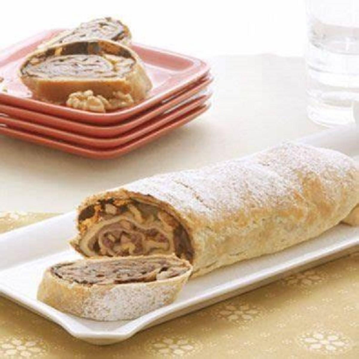 Chocolate Walnut Strudel | Recipe | Strudel recipes ...