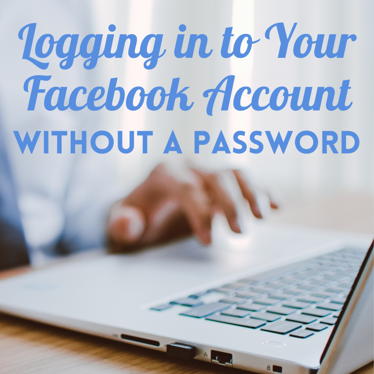 Forgot your password? Learn how to log in to your Facebook account without a password.