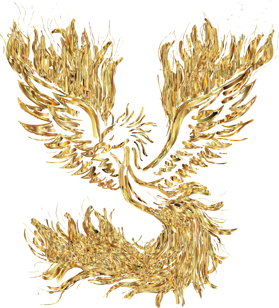The phoenix is a mythical bird symbolising immortality, rebirth, and life after death